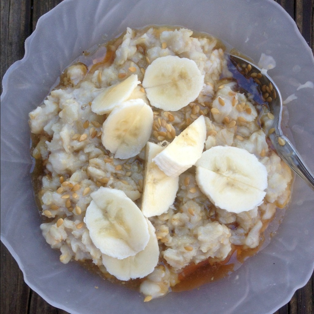 Oatmeal…the best oatmeal you will ever eat.