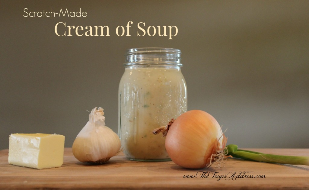 Scratch-Made Cream of Soup