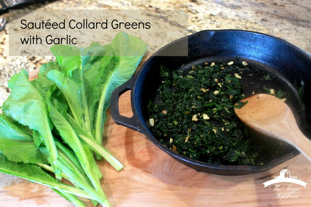 Sautéed Collard Greens with Garlic